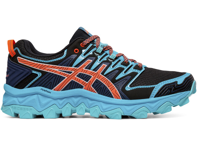 asics Gel-FujiTrabuco 7 Shoes Women aquarium/blue expanse